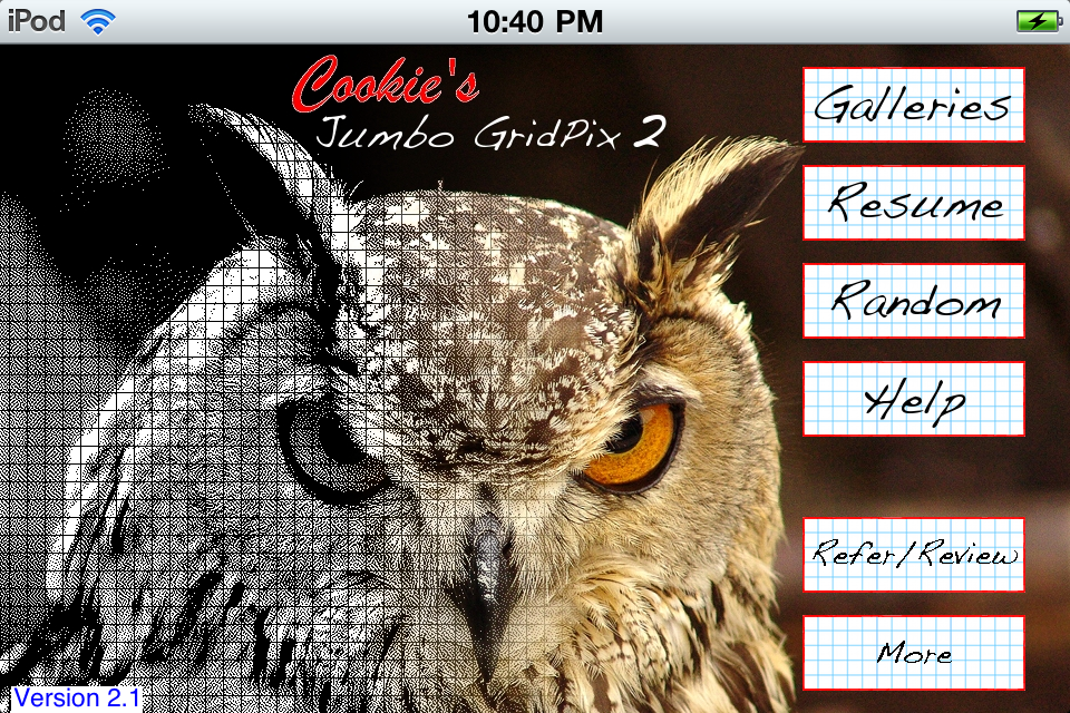 Screenshot Jumbo GridPix 2 Free
